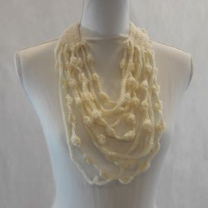 Maxi Collar, Necklace, Handcrafted, Crochet